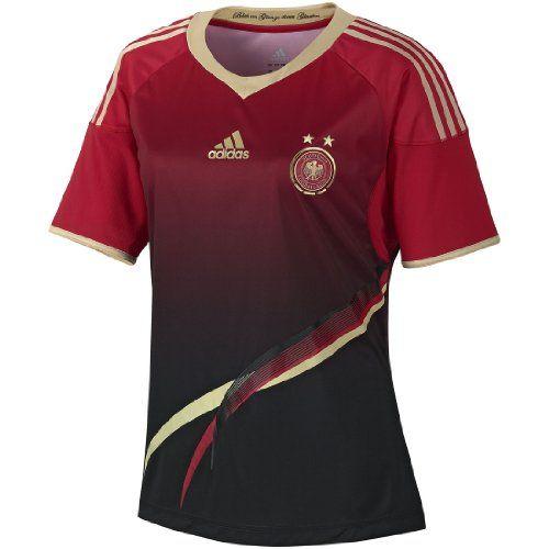 Adidas DFB Damen Fußball Trikot WM 2014 Away Jersey rot kurzarm M adidas http://www.amazon.de/dp/B00K2VYVNE/ref=cm_sw_r_pi_dp_iYoDwb0XDJRRG