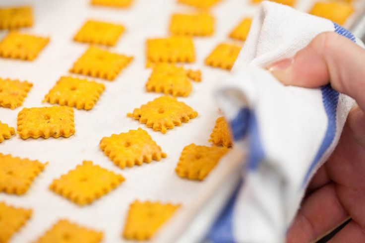Americas Test Kitchen Cheese Crackers
