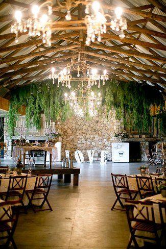 Farm Wedding Reception at Florence Guestfarm, Chrissiesmeer . See more here: Baby's Breath Succulents – South African Farm Wedding | Confetti Daydreams ♥ ♥ ♥ LIKE US ON FB: www.facebook.com/confettidaydreams ♥