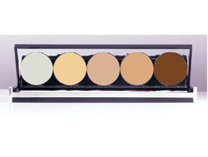 SLA 5 corrective cream luxury palette | SLA Makeup Studio