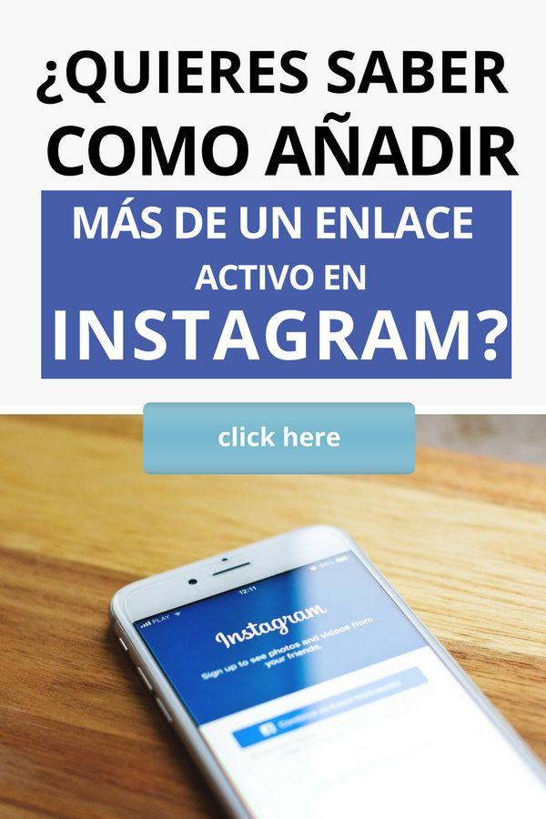 Consigue más clientes en Instagram añadiendo múltiples enlaces activos en tu perfil. Descubre como hacerlo. #instagram #negocio #emprendimiento #artesania