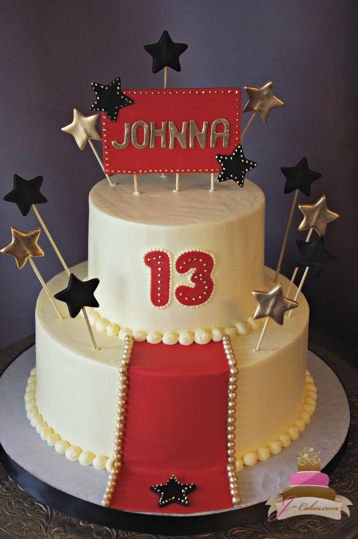 Hollywood Themed Quinceanera Cakes