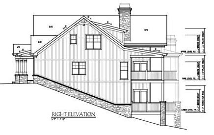 41 best images about dream house plans on pinterest for Lake house plans for sloping lots