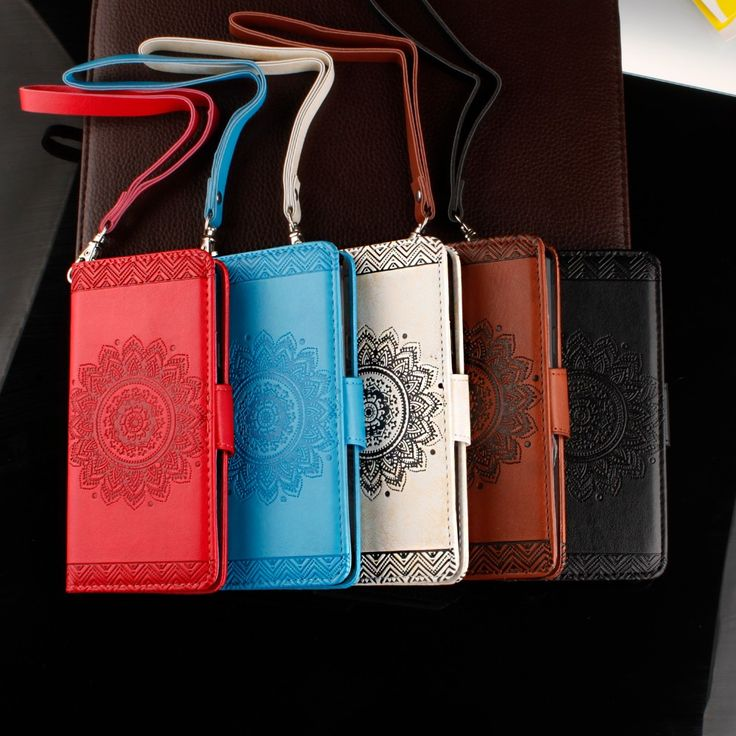 New High quality 5 colors leather datura flower pattern case For Apple iPhone 6 6s cases stand wallet card slot phone bag