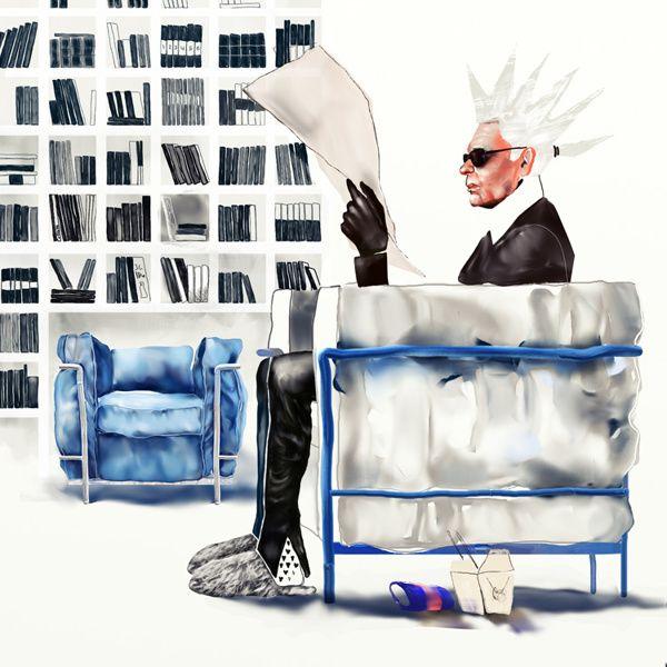 Tribute to Karl Lagerfeld