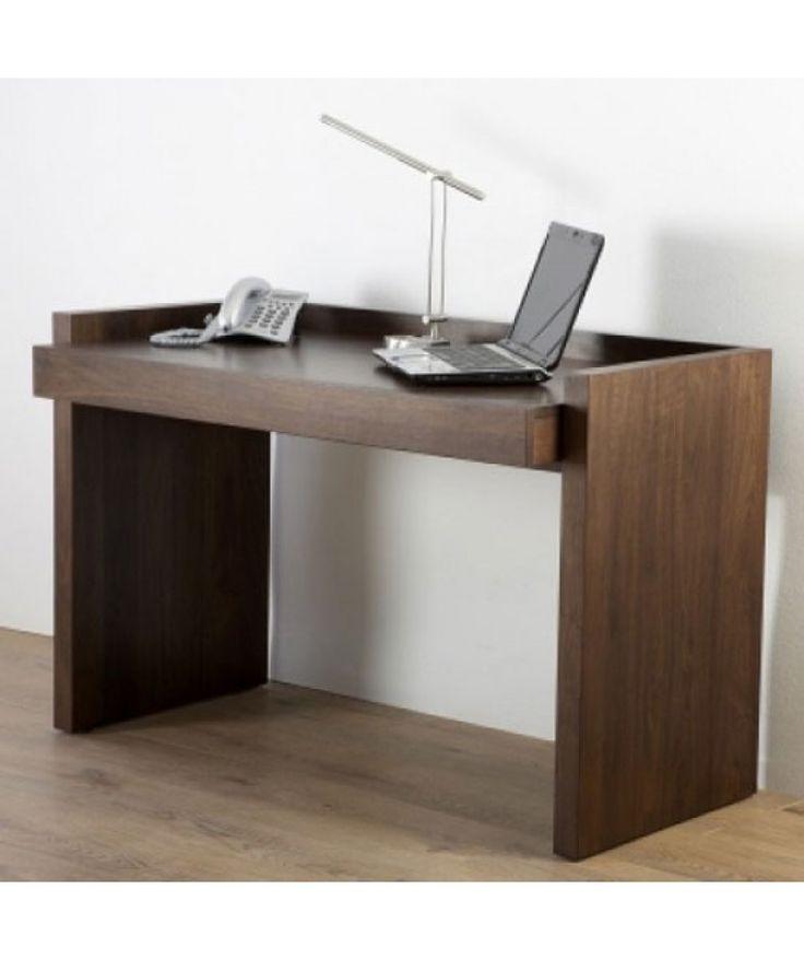 Home Office Desk Ln Walnut By Alphason Vat Dims