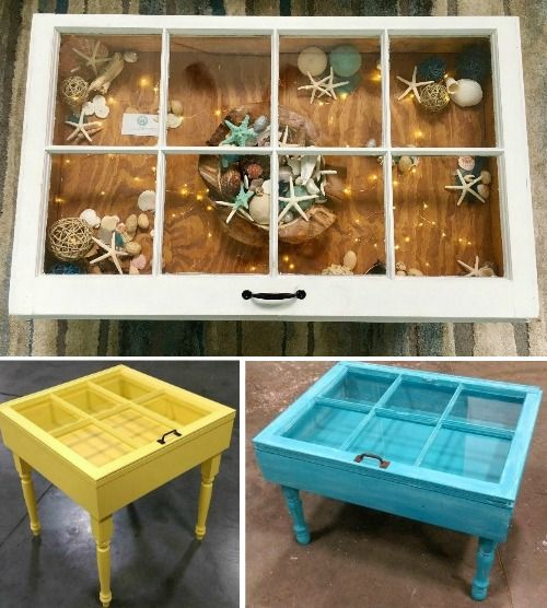 Handmade Window Display Tables.... http://www.completely-coastal.com/2017/03/white-display-tables-wood-display-table.html