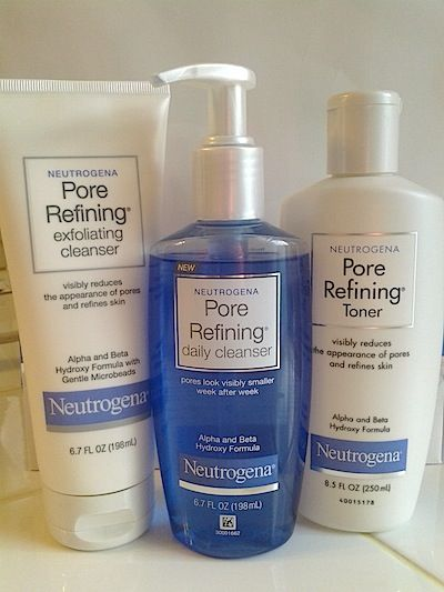 How To Reduce Pore Size: Review of Neutrogena Pore Refining Treatments #bstat