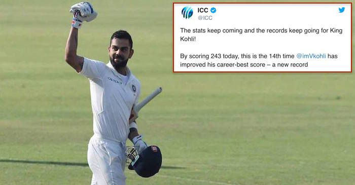 Cricketing world reacts as captain Virat Kohli smashes record 6th double century in Tests  India decimated Sri Lanka for a 2d successive day within the 3rd and ultimate Check sooner than mentioning at 536/7 below bizarre instances. Virat Kohli carried on his very good run and broke a plethora of information sooner than getting disregarded for 243  his 6th double century within the final 18-odd months.  Virat has turn into the primary skipper to hit six double centuries in Check cricket.  The…