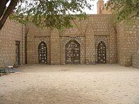 Mali Tombuctú -Puertas de la Universidad islámica de Sankore.