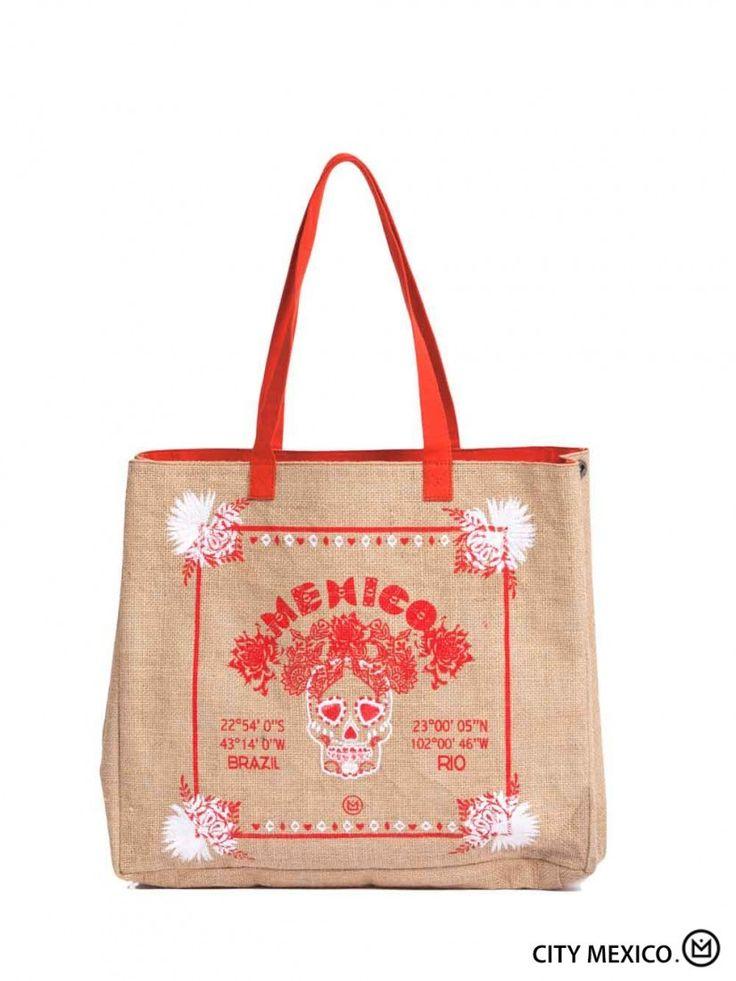 Sac Hipanema Mexico City - à 45€ sur le site Montres et Plus #sac #hipanema #été #mode #femme #accessoires #plage #vacances #mexico