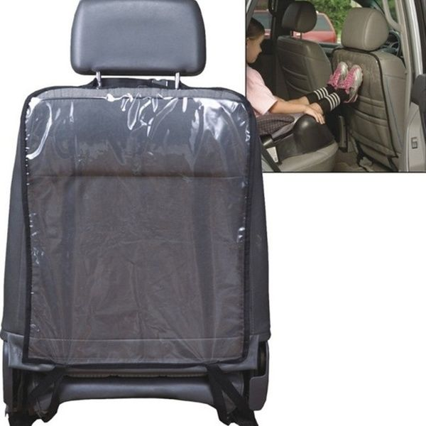 Car seat back protectors cover for kids kick clean mat protects anti dirty cover