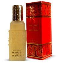 Molinard de Molinard is een damesgeur uit 1979, dit 'groene' parfum heeft noten van onder andere bergamot, narcis, jasmijn, tuberoos, patchouli olie en amber