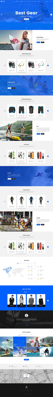 Surfing website design – SiteUp