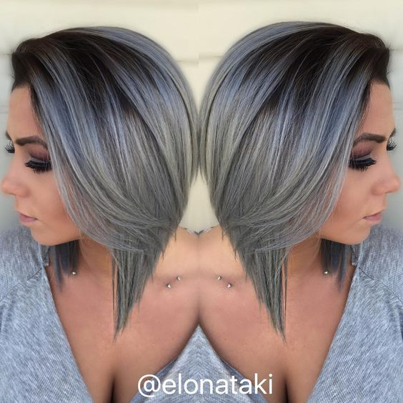 If you think that only your grandparents and people their age have gray manes, then you are completely wrong.    There is this new trend...