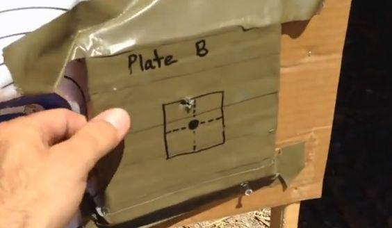 Homemade Bulletproof Body Armor Plate