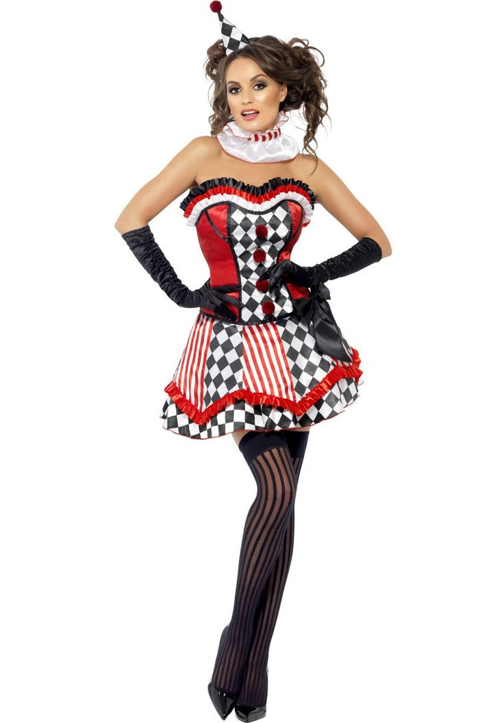Clown Cutie Costume, Fever Collection