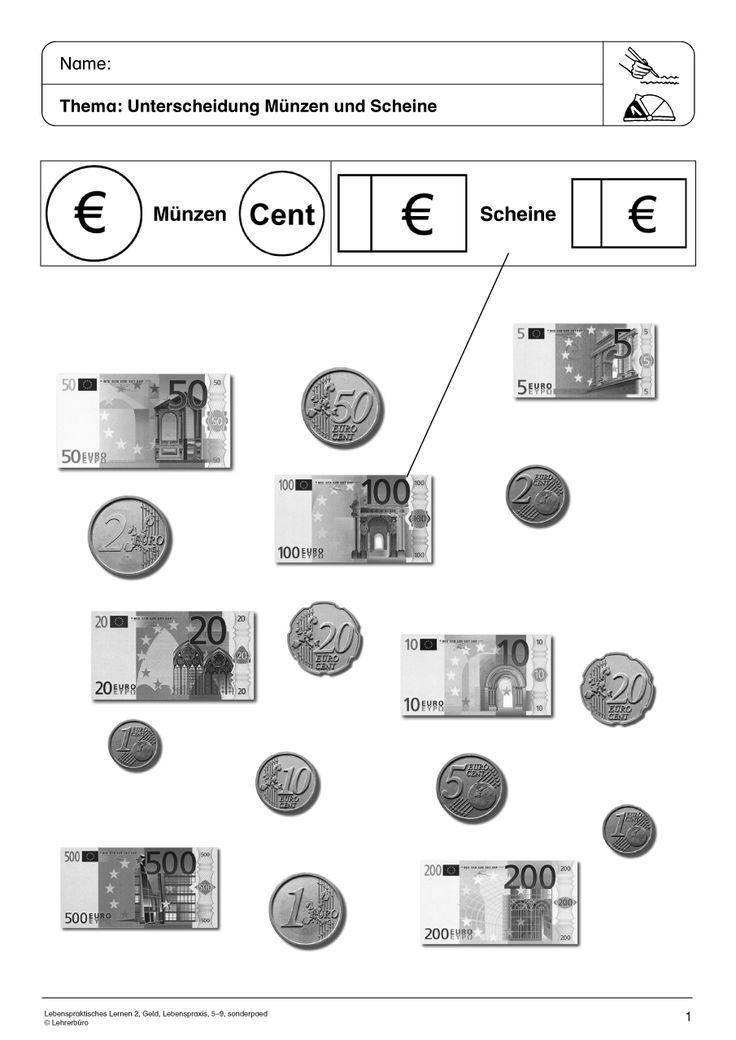 Gemütlich Erste Klasse In Mathe Arbeitsblatt Geld Galerie ...