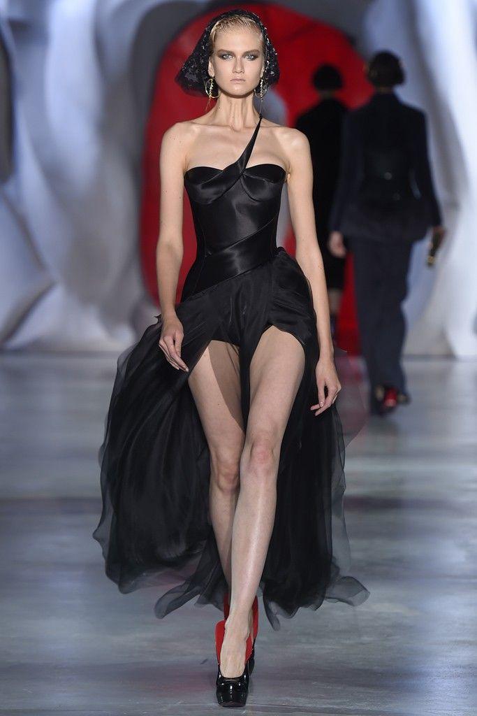 Ulyana Sergeenko Couture Fall 2014 [Photo by Giovanni Giannoni]