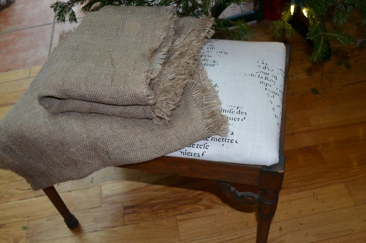 You can definitely wash burlap! This is a tried, tested and true fact....but it's a lot of work!