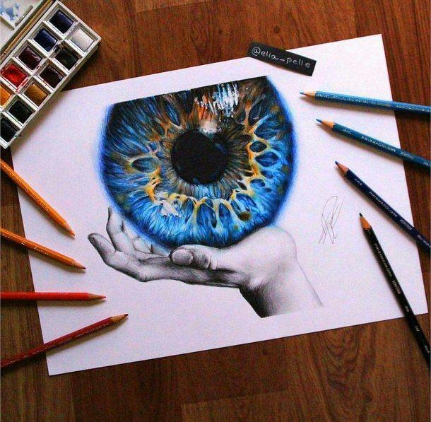 Kunst, schön, bunt, Zeichnungen, Augen – Bild # 3656400 von …
