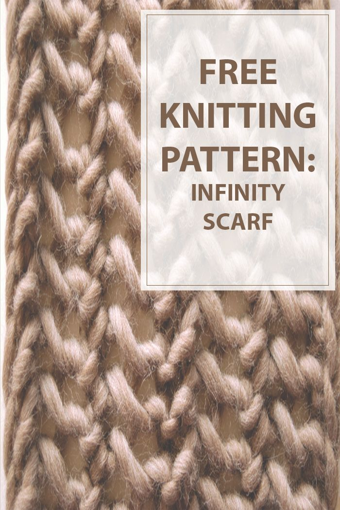 Infinity Scarf Knitting Pattern  You all know how much we all love a good super chunky yarn.This infinity scarf knitting pattern made using 1 skein of Magnum and #19's it's an easy and fast project.Amazing project for a gift. #knitting #scarf | www.housewiveshobbies.com |
