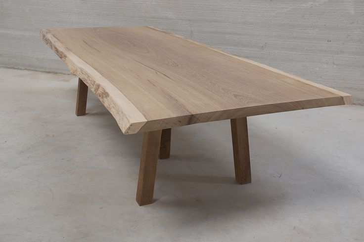 Live Edge Iroko Slab Dining Table