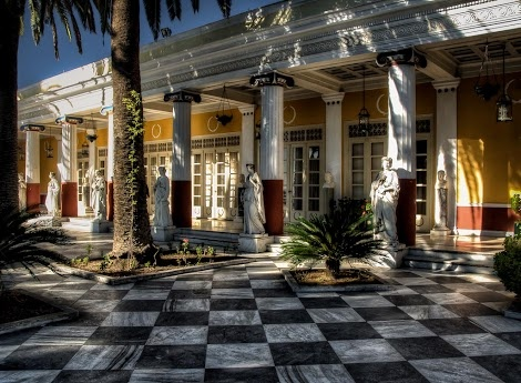 Achilleion Palace, Corfu, Greece