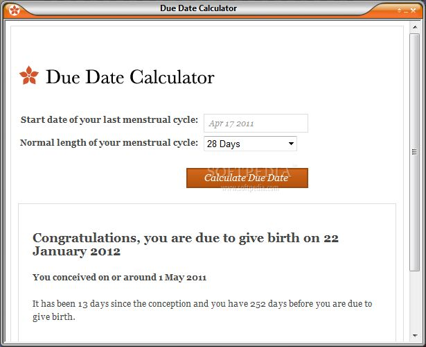 Calculating due date in Sydney