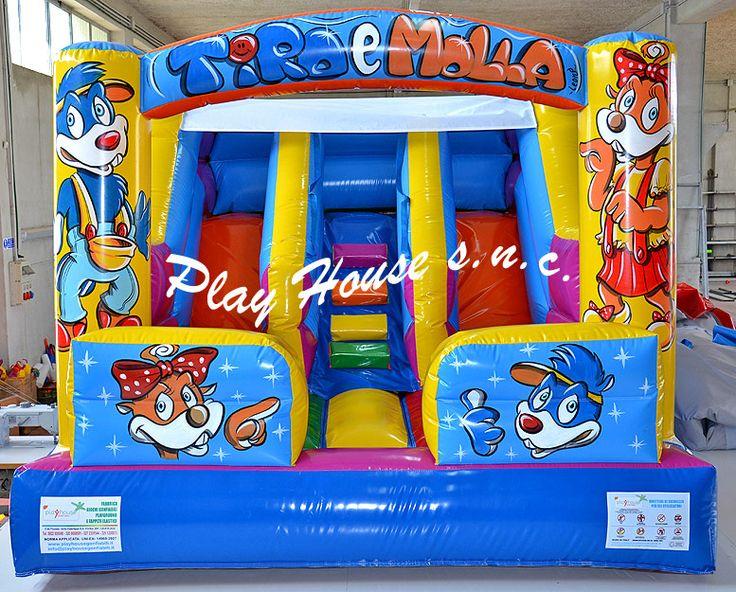 Scivolo gonfiabile che dura una vita in offerta speciale http://playhousegonfiabili.it/scivoli-gonfiabili/scivolo-gonfiabile-per-bambini-tiro-e-molla-162-detail.html
