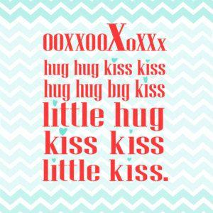 big kiss little kiss. nacho libre funny romantic quote poster... digital file