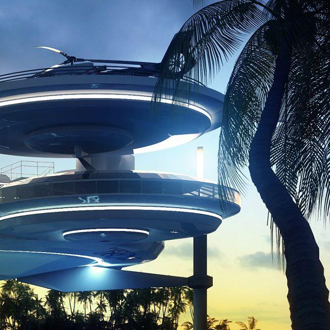 8 Best Retro Futuristic Architecture Images On Pinterest