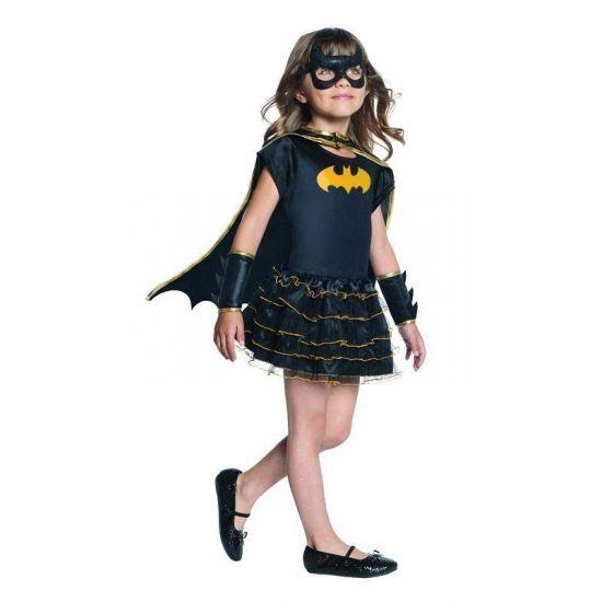 Batgirl superheld jurkje voor meiden. Carnavalskleding 2016 #carnaval