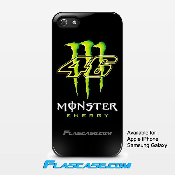 Valentino Rossi Monster Energy 46 Apple iPhone 4/4s 5/5s 5c 6 6 Plus Samsung Galaxy S3 S4 S5 S6 S6 EDGE Hard Case #AppleiPhoneCase #SamsungGalaxyCase