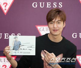 Lee Min Ho - GUESS FanSign - 23.05.2015