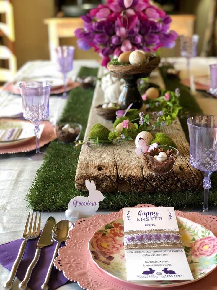 Garden Party Inspired Easter Tablescape Ideas 1261
