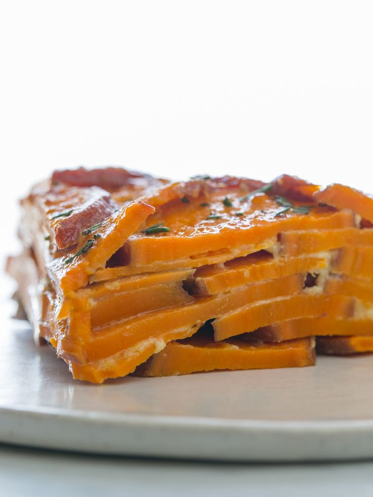 Sweet Potato and Rosemary Gratin | Spoon Fork BaconBacon Y, Gratin ...