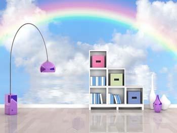 Rainbow Wall Mural - Poster