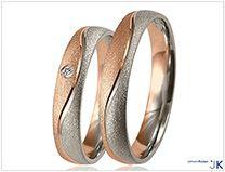 Collectie trouwringen Witgoud   Johann Kaiser trouwringen - WSA0140340/w