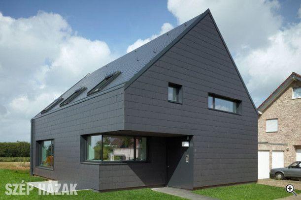 Látványos megoldások modern síkpalával - Szép Házak