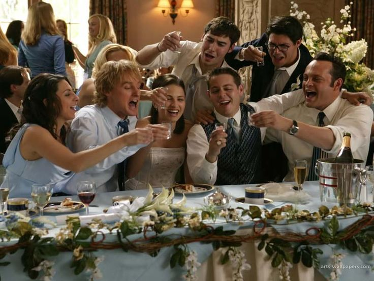 Be Open To Where The Night Takes You Advice From Wedding Crashers Http