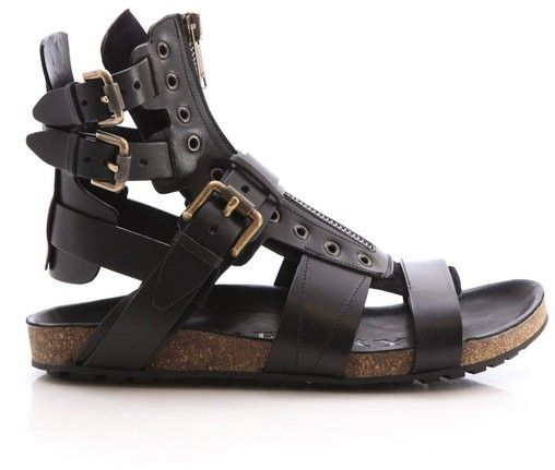 Burberry Sandals. This is supposed to be a guys sandal but I'd definitely wear it myself. Looks a little hotly to me anyways.