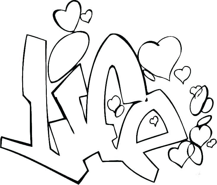 Graffiti Coloring Pages For Teens And Adults Also See The