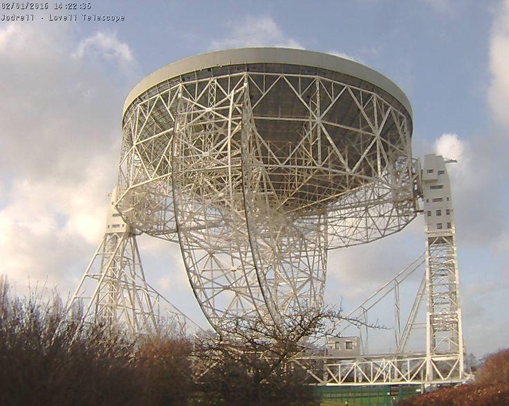 Lovell Telescope webcam image
