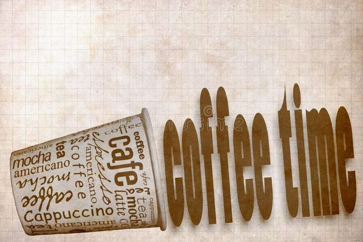 Download Coffee poster stock illustration. Image of caffeine - 104656557
