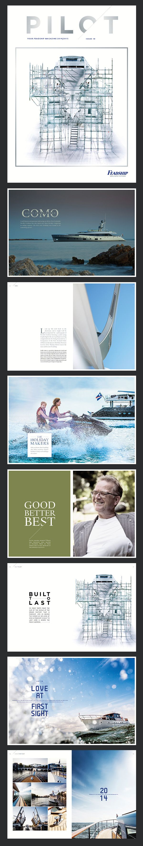 Feadship - Pilot book (178 Pages)