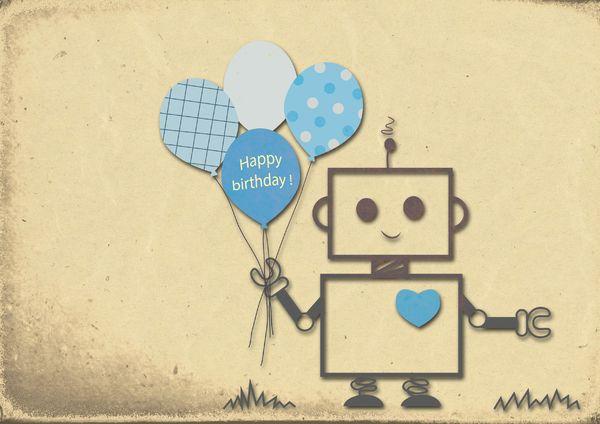 Happy Birthday Robot Boy: no description