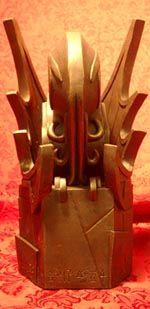 "Model of C'thulhu totem from HPLHS's ""Call of C'thulhu"" silent film."