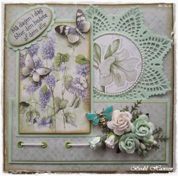 Скрапбукинг открытка лесенка