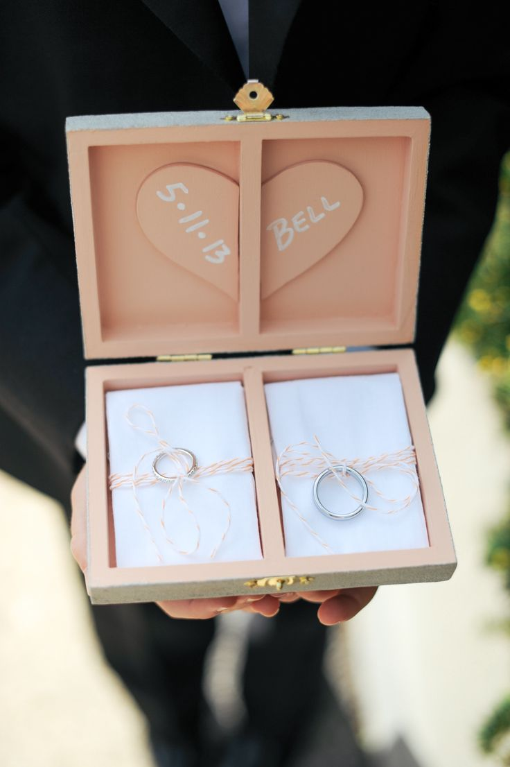 Darling #RingBox | Photography: Erica Rose Photography: See the wedding on SMP: http://www.stylemepretty.com/illinois-weddings/2013/11/11/modern-chicago-wedding-from-erica-rose-photography